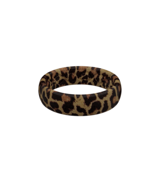 Groove Life Groove Life Thin Aspire Leopard Silicone Ring