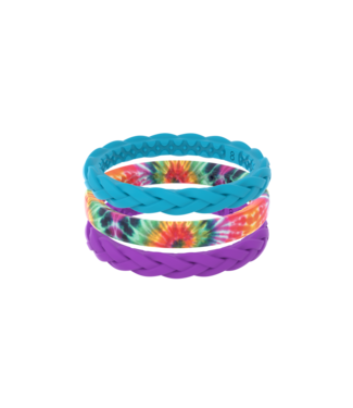 Groove Life Groove Life Stackable Air Gypsy Eyes Silicone Ring