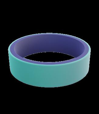 Qalo Women's Switch Aqua & Iris Ring