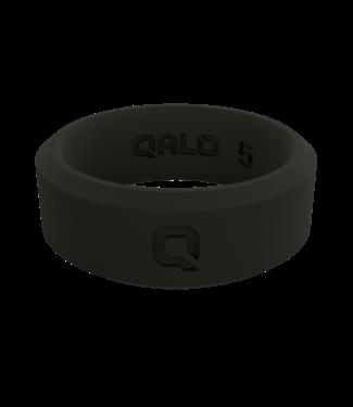 Qalo Women's Modern Black Q2X Ring