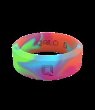 Qalo Women's Modern Tie Dye Ring