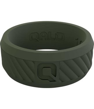 Qalo Qalo Mens Traverse Sage Ring