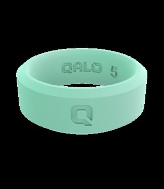 Qalo Standard Womens Aqua FoxFire Modern Q2X Ring