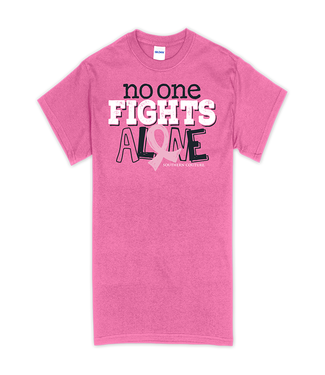 Southern Couture Southern Couture Soft No One Fights Alone SS Tee Azalea