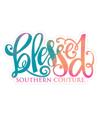 Southern Couture Southern Couture Blessed Sticker