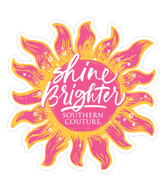 Southern Couture Southern Couture Shine Brighter Sticker