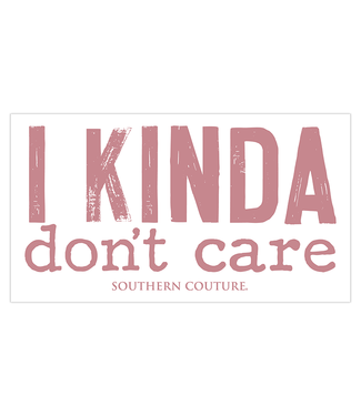 Southern Couture Southern Couture Kinda Don't Care Sticker