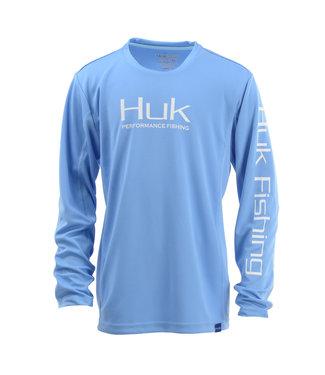 Huk YTH Huk Icon LS Light Blue