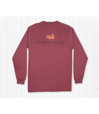 Southern Marsh Southern Marsh LS Authentic Tee