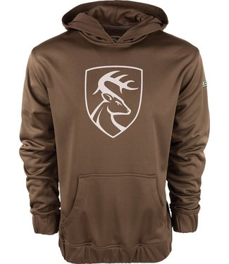 Non-Typical Non-Typical Performance Hoodie With Agion Brown