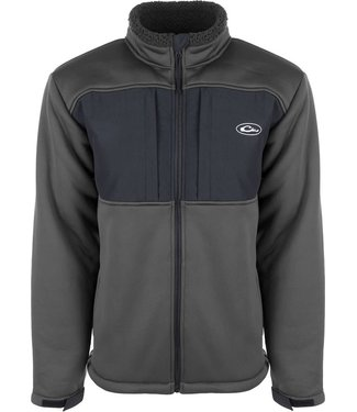 Drake Drake Sherpa Fleece Lined Jacket Grey/Black