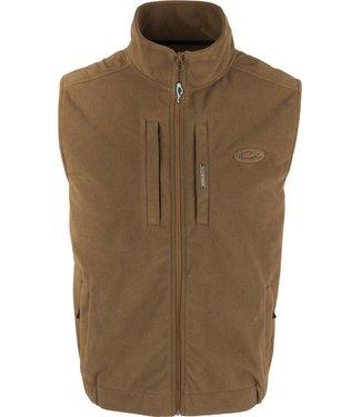 Drake Drake Windproof Fleece Layering Vest Tobacco