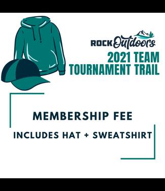 Rock Outdoors Team Tournament Trail Fall 2021 Membership Fee