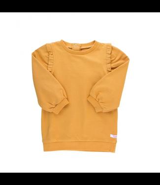 Rufflebutts Rufflebutts Sweatshirt Tunic Honey