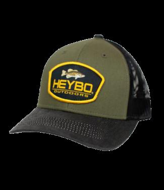 HEYBO Heybo Bass Patch Mesh Back Trucker Black/Olive
