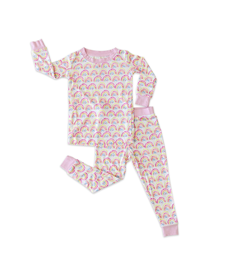 Little Sleepies Little Sleepies Girls Two-Piece Bamboo Viscose Pajama Set