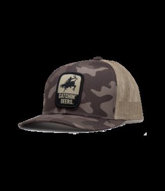 Catchin' Deers Catchin' Deers Old School Grey Camo Hat