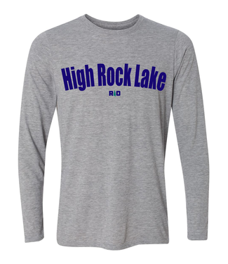 Rock Outdoors Rock Outdoors Gray High Rock Lake LS Tee