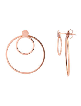 Rose Gold Plated Sterling Silver
