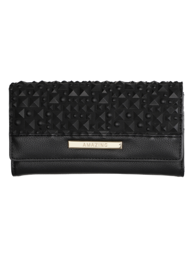 Handbag (PU) Black Wallet