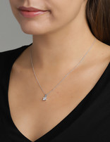 Necklace Sterling Silver Square