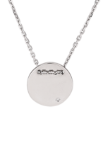 Necklace Sterling Silver Circle