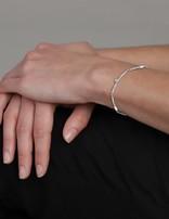 Bracelet (Sterling Silver) Labradourite & Smokey Quartz Bead