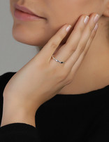 Ring Sterling Silver Plain Clarity- Large