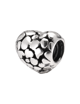 Charm Sterling Silver Heart