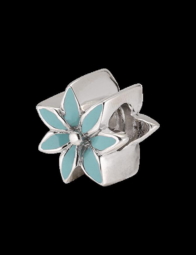 Charm Sterling Silver Flower