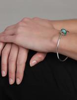 Spirit Bracelet Sterling Silver Spirit Bangle 19 cm