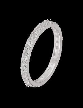Ring Sterling Silver Sprinkling-Medium
