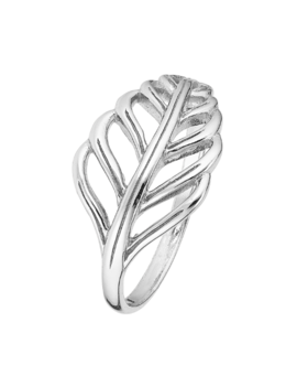 Ring Sterling Silver  Leaf-Extra Small