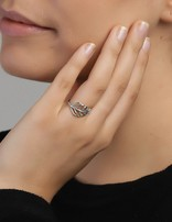 Ring Sterling Silver Leaf-Small