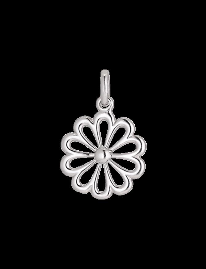 Pendant Sterling Silver Flower