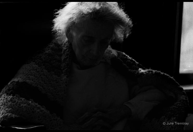 Backlit Woman