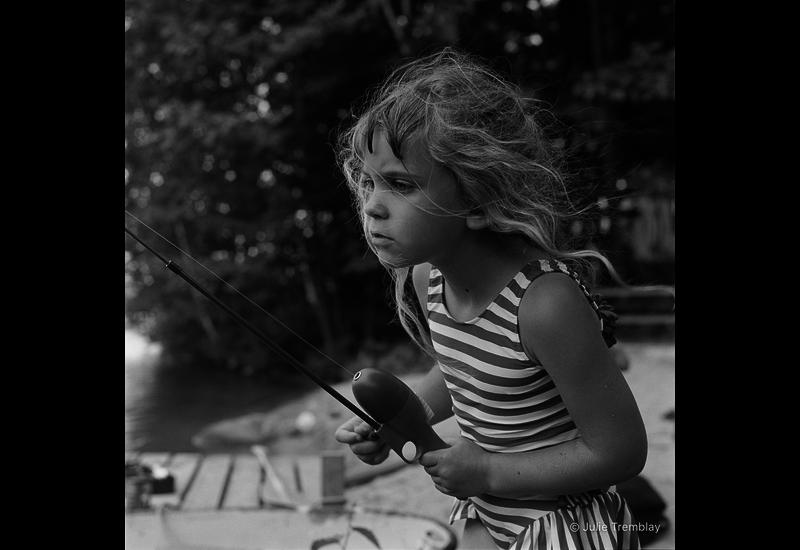 Emma fishing