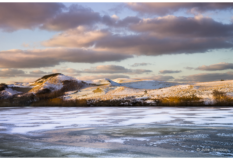 Prints Pilgrim Lake Winter