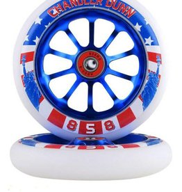 Ride 858 RIDE 858 Slick Rick Wheels 110MM Chandler Dunn Sig.