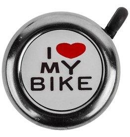 Sunlite Sunlite I Love my Bike Bell Chrome