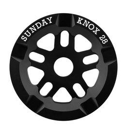 Sunday Sunday Knox Sprocket 28T Black