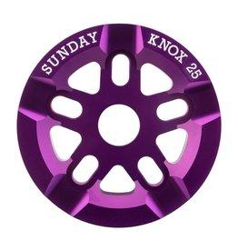 Sunday Sunday Knox Sprocket 25T Purple