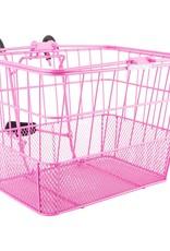 Sunlite Sunlite Wire Mesh Basket Pink
