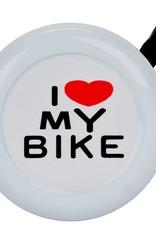 Sunlite Sunlite I Love my Bike Bell White