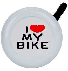 Sunlite Sunlite I Love my Bike Bell White