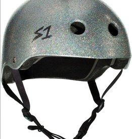 S1 Helmets S1 Lifer Helmet Silver Gloss Glitter M