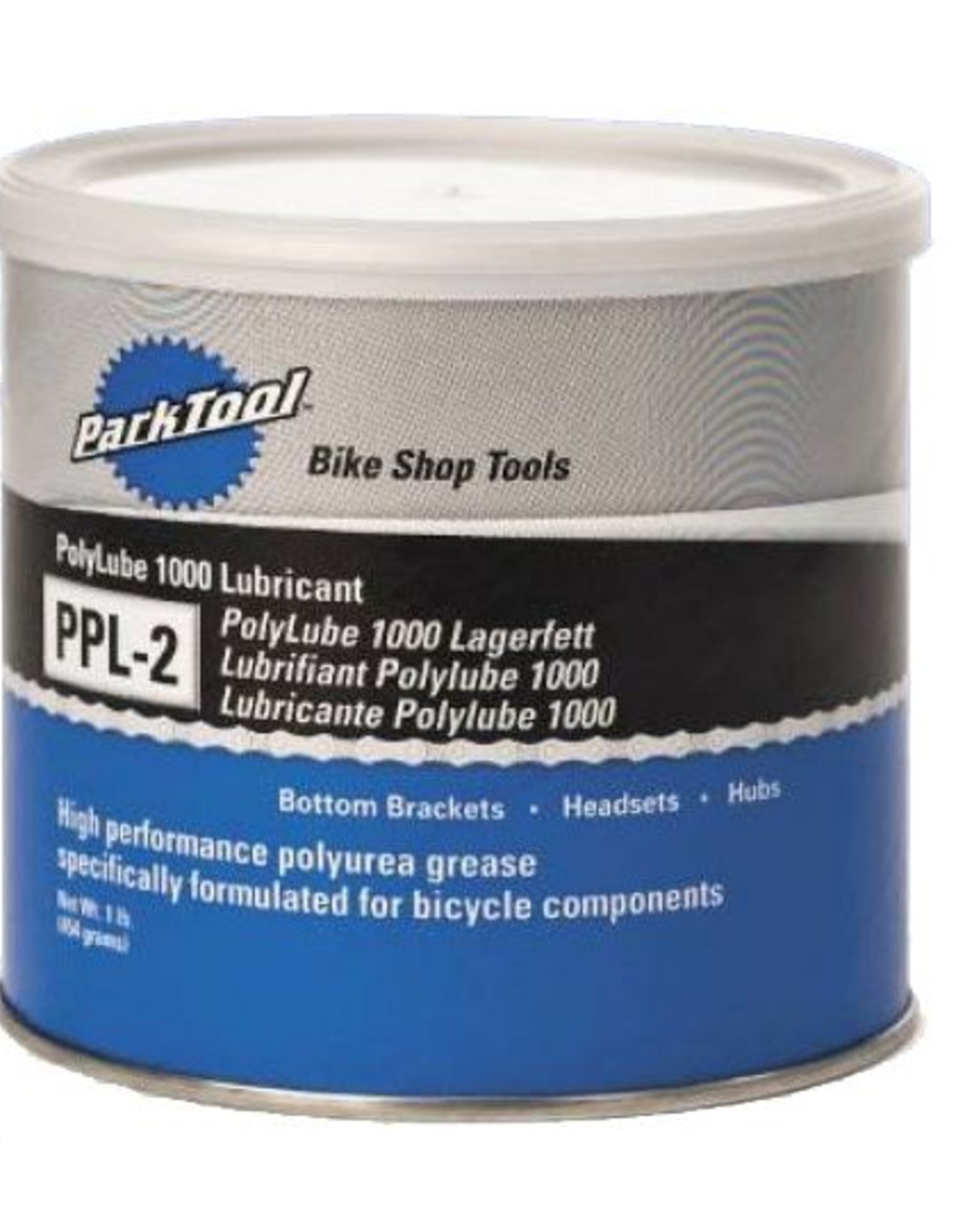 Park Tool Park Tool Poly lube 1000 Grease Tub, 16oz