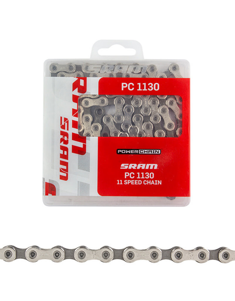 Sram SRAM PC-1130 Chain W/Powerlink Silver/Gray