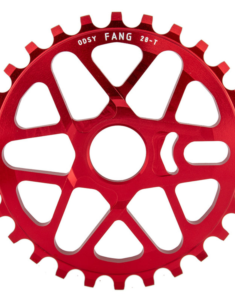 Odyssey Odyssey Fang Sprocket 28T Anodized Red