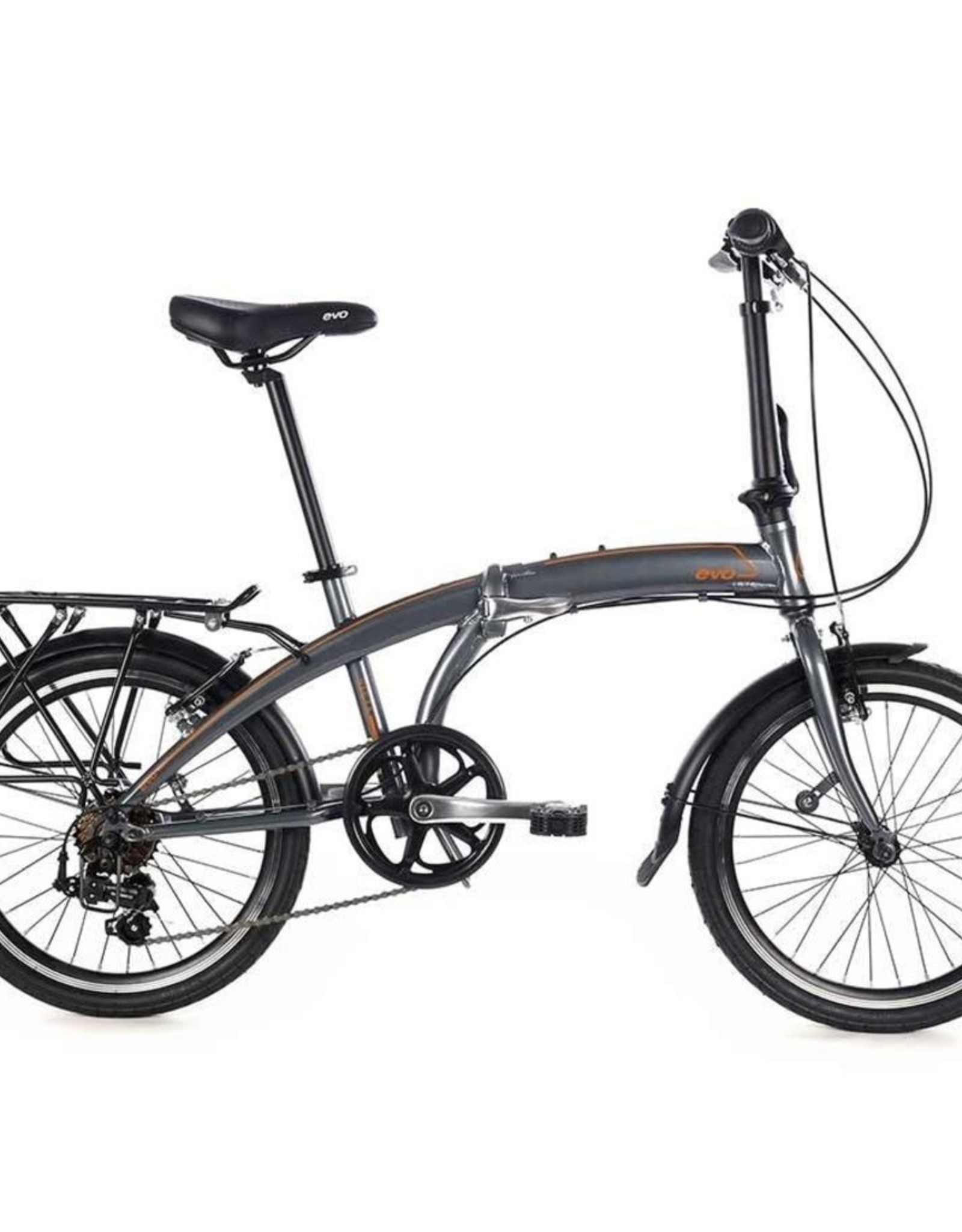 EVO EVO, Vista Folding City Bicycle GREY
